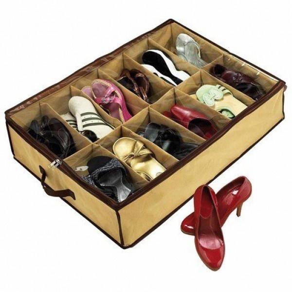 Organizator de pantofi - profita de spatiul nefolosit
