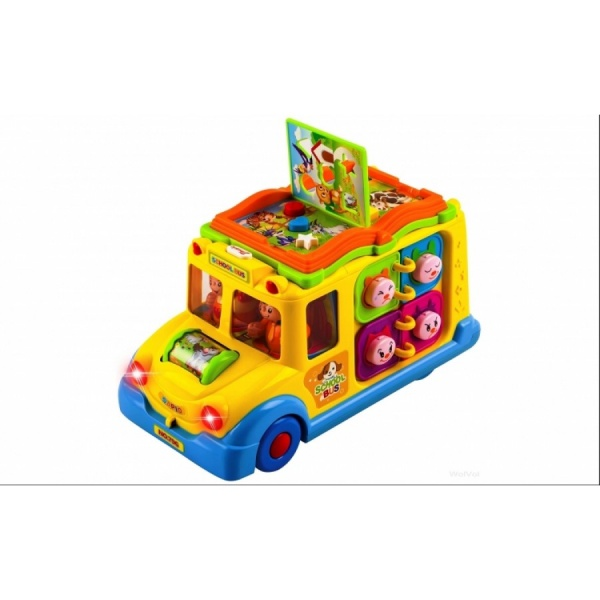 Jucarie activitati Autobuzul Scolar Intelectual