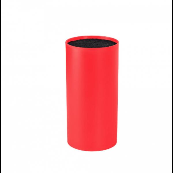 Bloc universal pentru cutite de bucatarie Vanora, 22.5x11 cm, Rosu