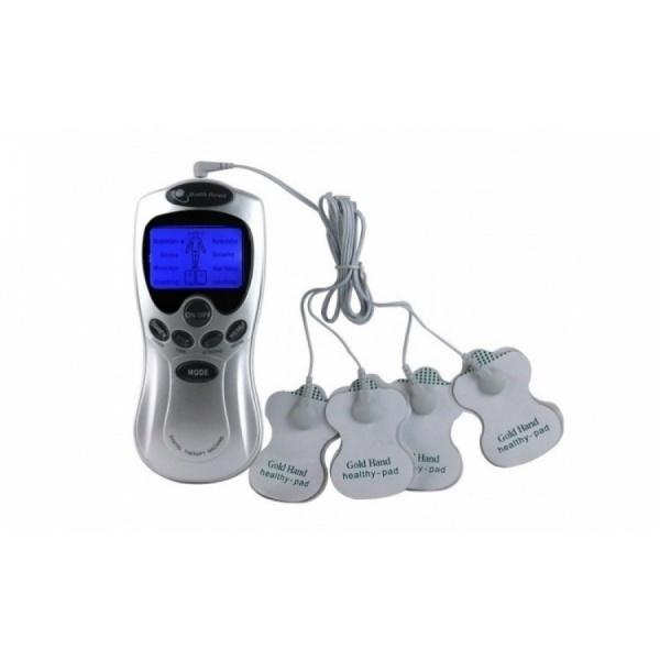 Aparat de masaj cu electrostimulare cu 4 electrozi