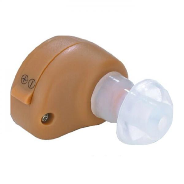 Mini aparat auditiv intraauricular control volum