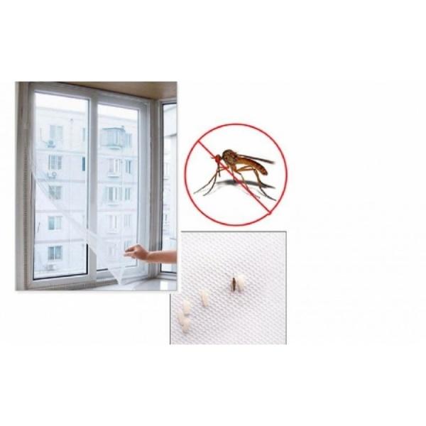 Set 4 plase impotriva insectelor pentru fereastra 130 x 150 cm