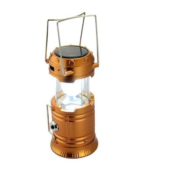 Set 2 x Lampa solara reincarcabila, camping