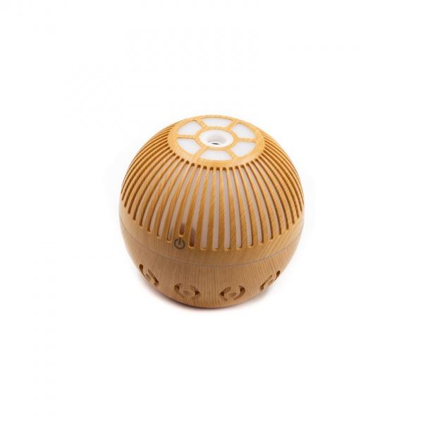 Difuzor aromaterapie tip sfera 130ML cu led incorporat