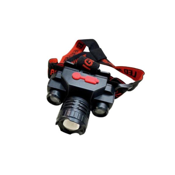 Lanterna de cap KX-1805, 3 faze iluminare, 180 lm, incarcare USB