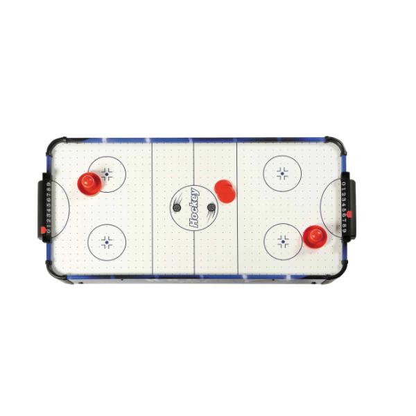 Joc de masa air hockey pentru copii, 87x41.5x21 cm