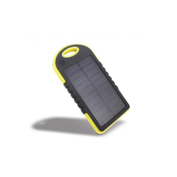 Baterie externa solara 12.000 mAh - Rezistenta la socuri si udat