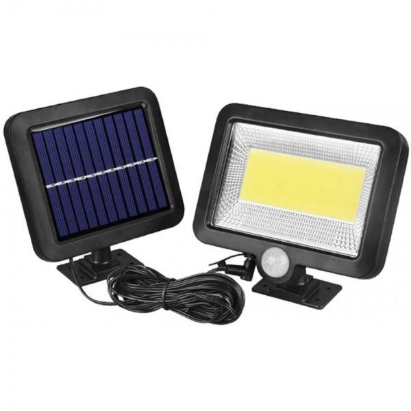 Lampa solara de perete cu senzor de miscare F100
