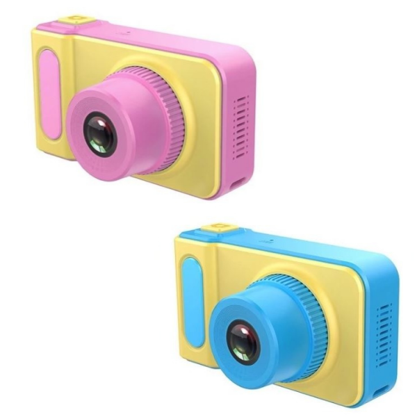 Camera foto/video Full HD, digitala, pentru copii, multiple functii