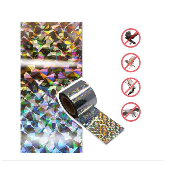 Set 2 role 35m banda holografica impotriva pasarilor - porumbei, grauri, vrabii etc