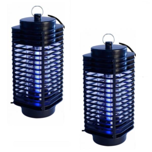 Set 2 x Lampa UV / Felinar cu lumina ultravioleta, anti-insecte