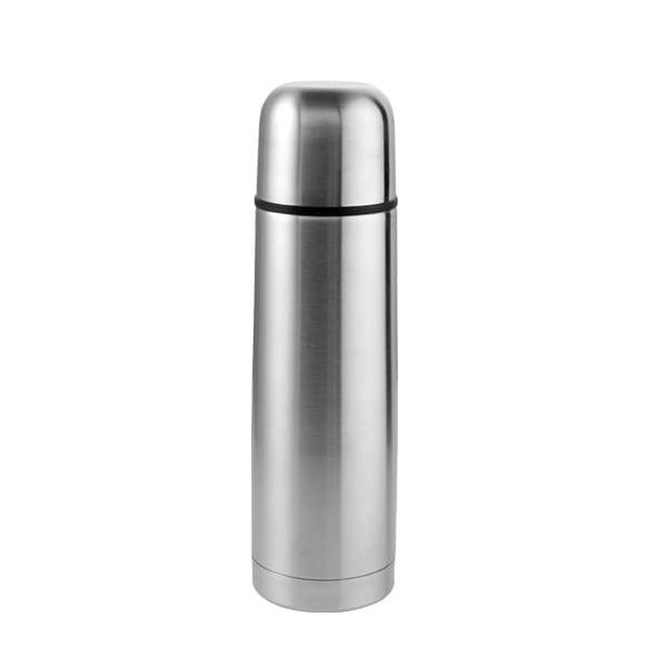 Sticla termos inox argintiu 1L
