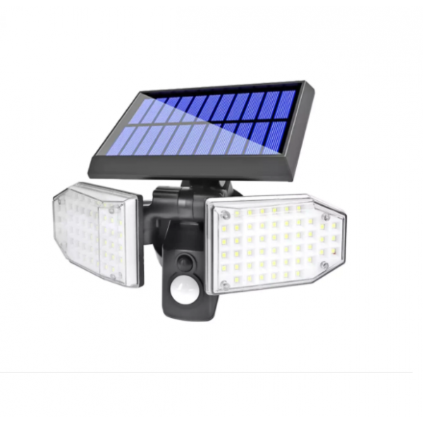 Lampa solara cu senzor de miscare 78 x LED, 600LM , 120 grade SH-078