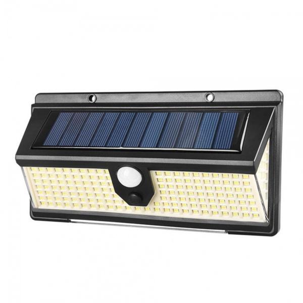 Lampa solara de perete cu senzor de miscare, 190SMD, CL-S190