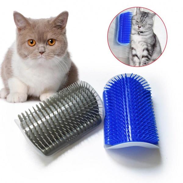 Perie de perete pentru pisici